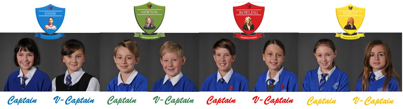 Hib House Captains
